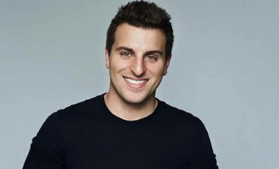 Brian Chesky in Kenya