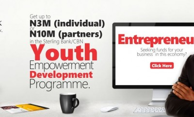 Sterling Bank youth entrepreneurship development prog