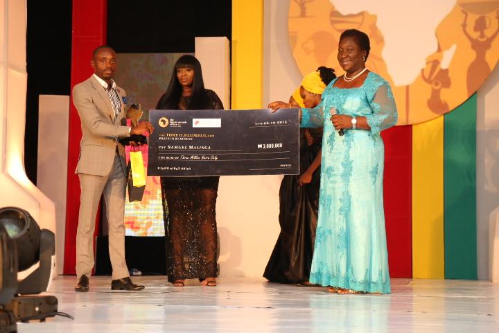 Ugandan entrepreneur Samuel Malinga clinches Tony O. Elumelu Prize in Business at The Future Africa Awards