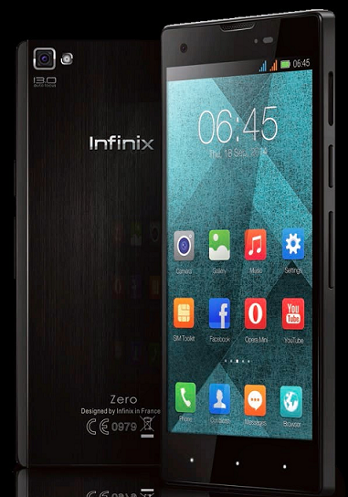 INFINIX ZERO Will Trump Blackberry Z3 In The Nigerian Market