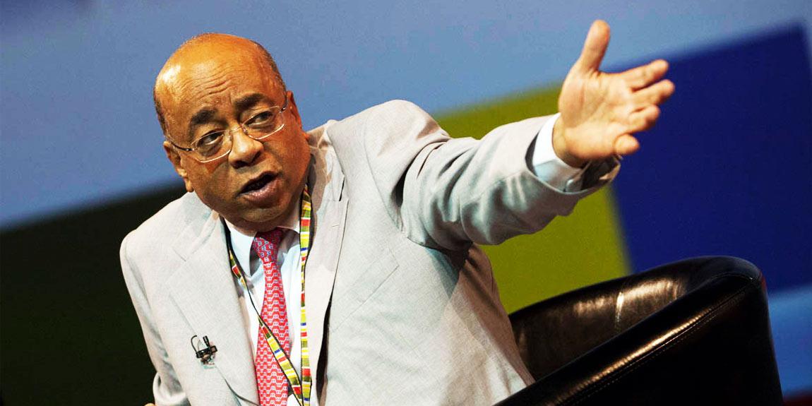 Sudanese Billionaire Mo Ibrahim Calls American Businesses 'Misinformed'