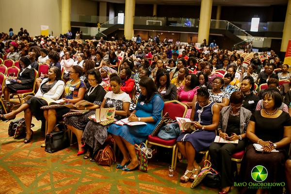 A cross-section of attendees