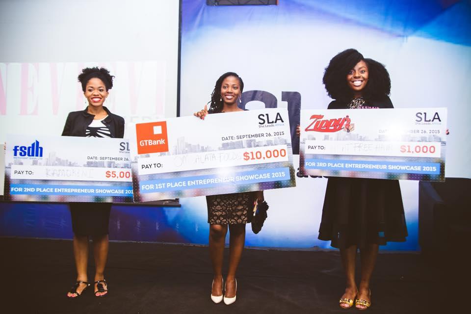 She Leads Africa 2015 Pitch Winner is Omo Alata Pepper Mix