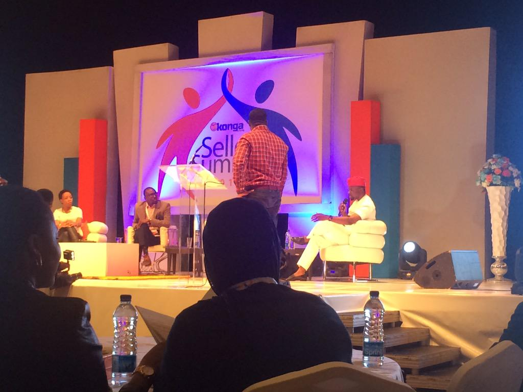 Ebi Atawodi, Gen.Manager UBER Nigeria, Tomi Ogunlesi of Interswitch and Debola Williams, RED Media Group.