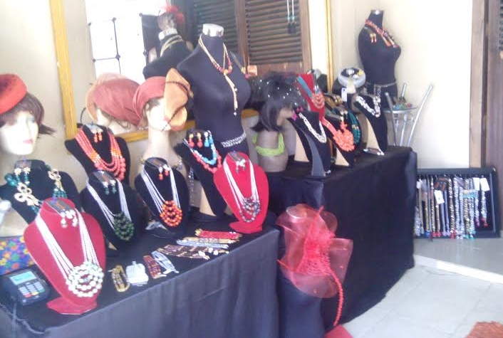 Proverbs Creations in-store display