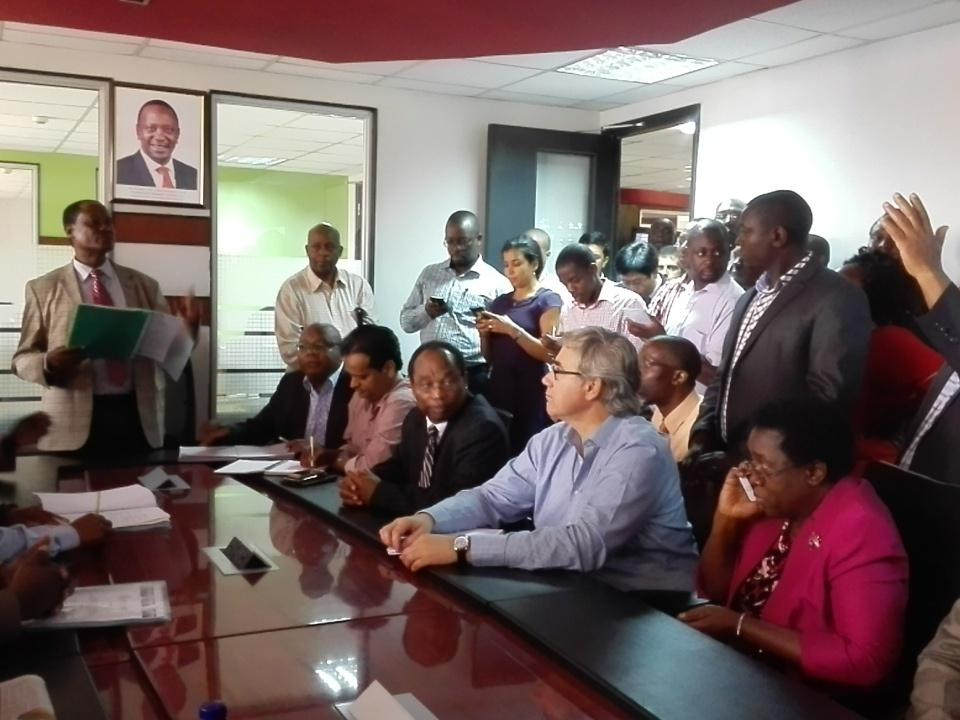 What are the Kenyan ICT Ministry's plans for 2016?