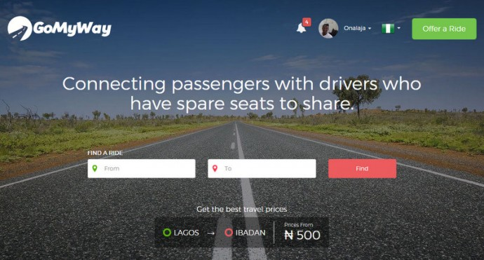 Ride share platform GoMyWay Africa marks first anniversary
