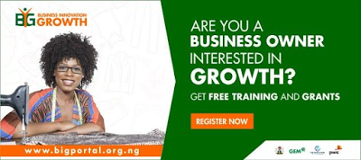 B.I.G Platform: Register to earn grants and grow your business