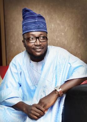 Moses Fabiyi  CEO of Hauteman Events.