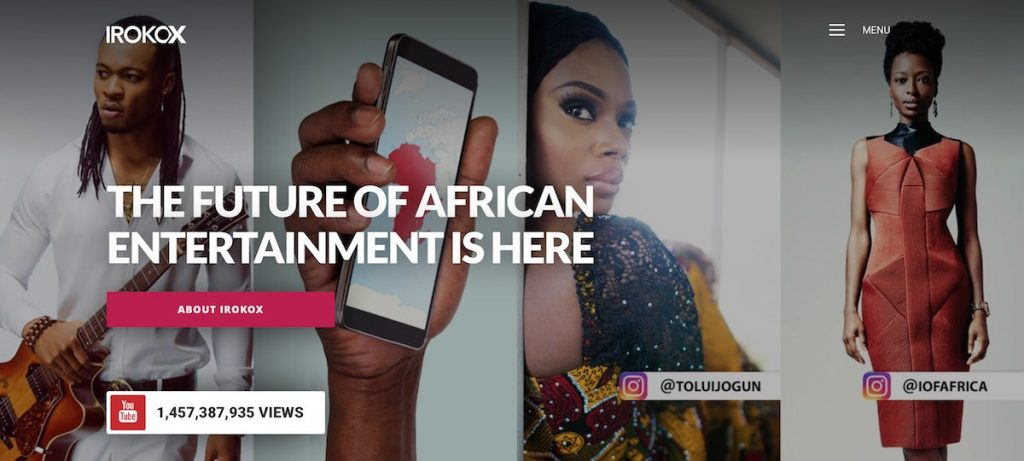 IROKO launches new African digital media platform, IROKOX