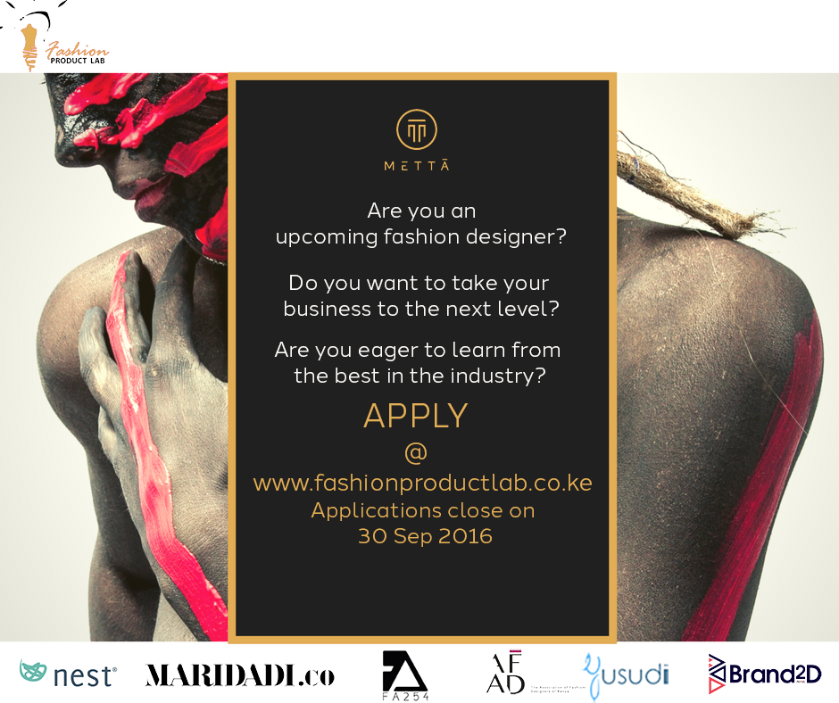 Fashion product lab calls on applications from African fashionpreneurs