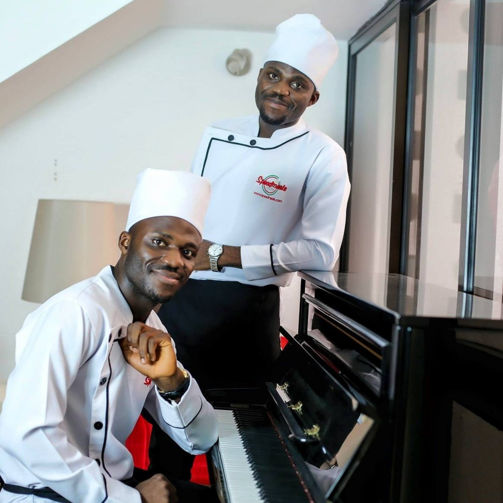 SpeedMeals Mobile Kitchen co-founders Tobias and Titus Igwe