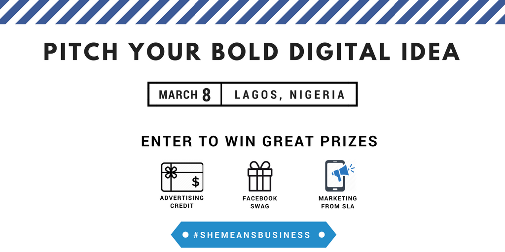 Lagos based entrepreneurs with online businesses can apply to win free Ad and marketing support with SheLeadsAfrica