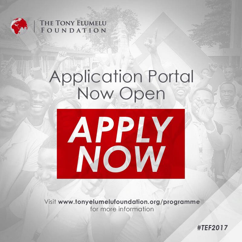 Tony Elumelu Foundation Entrepreneurship Programme: Apply now to win $10,000