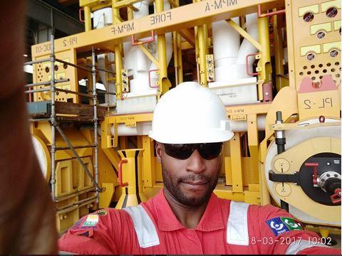 Okecukwu Ofili being an engineer