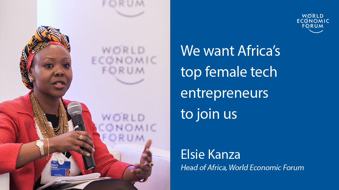 African Female Tech Entrepreneurs: Apply to be a part of the World Economic Forum in Durban, South Africa